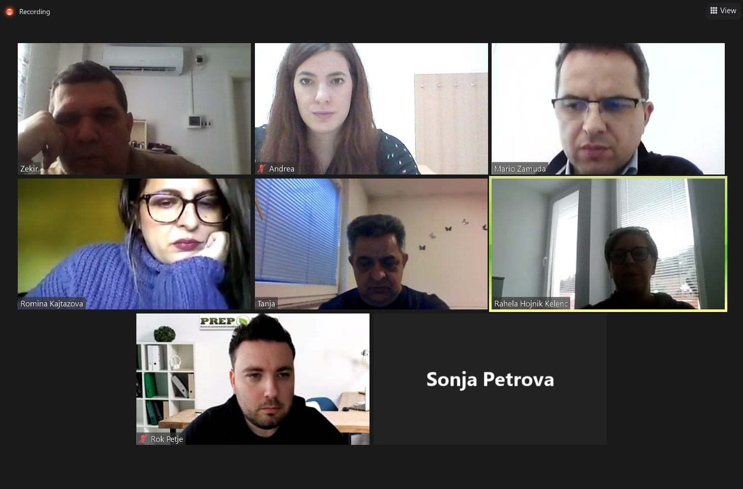 New Chance for Us – Zoom Meeting (18.1.2021.)