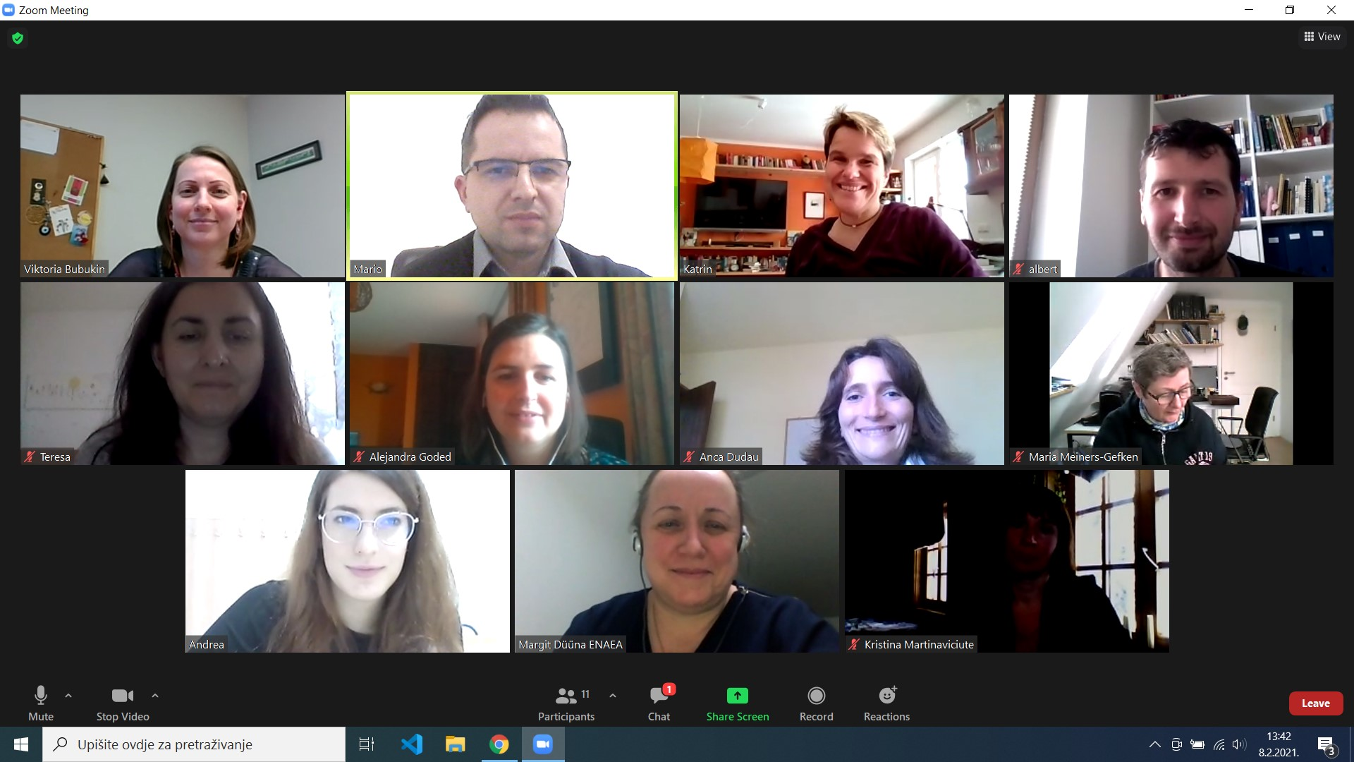 News online meeting – 8.2.2021.
