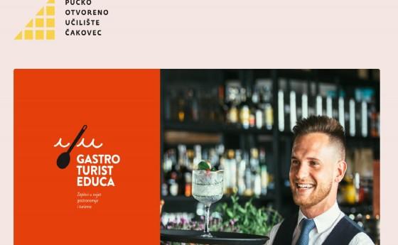 Izrađena stranica EU projekta Gastroturisteduca