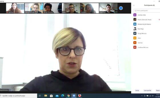 NEC online meeting