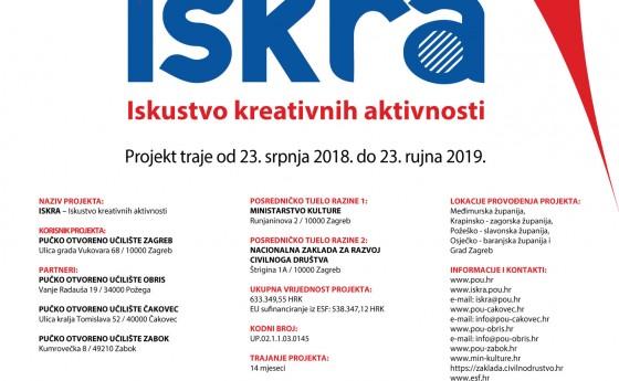EU projekt ISKRA – Iskustvo kreativnih aktivnosti