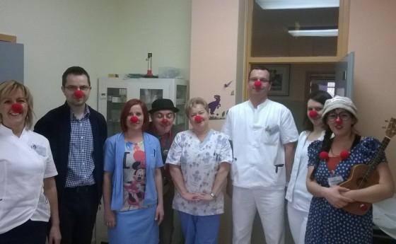 Klaunovidoktori posjetili djecu u Županijskoj bolnici Čakovec