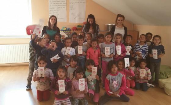 Radionica za pomoć u učenju u Romskom centru Kuršanec